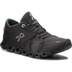 Buty ON - Cloud X 000020 Black/Asphalt 4006. Czarne buty do biegania damskie marki On, z materiału. Za 649,00 zł.