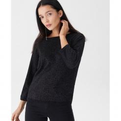 Sweter z wiązaniem na plecach - Czarny. Czarne swetry klasyczne damskie House, l, z dekoltem na plecach. Za 79,99 zł.