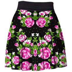 Odzież damska: Spódnica Mr. Gugu & Miss Go z kolorowym nadrukiem