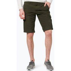 Bermudy męskie: BOSS Casual - Spodenki męskie – Schwinn5-Shorts, zielony