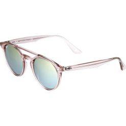 RayBan Okulary przeciwsłoneczne pink. Czerwone okulary przeciwsłoneczne damskie aviatory Ray-Ban. Za 639,00 zł.