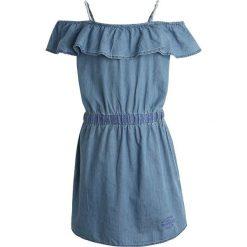 Sukienki dziewczęce z falbanami: Kaporal FYLOU Sukienka jeansowa blue