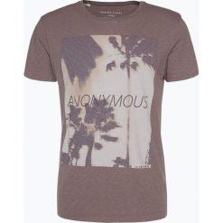 Selected - T-shirt męski, różowy. Fioletowe t-shirty męskie z nadrukiem marki KIPSTA, m, z elastanu, z długim rękawem, na fitness i siłownię. Za 89,95 zł.