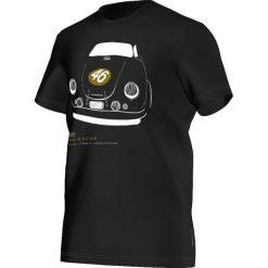 Koszulki sportowe męskie: Adidas Koszulka męska T-Shirt Porsche 356 czarna r. XS (S00365)