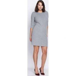 Szara Sukienka Nobody's Perfect. Szare sukienki hiszpanki Born2be, l, midi, oversize. Za 69,99 zł.