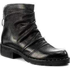 Botki EVA MINGE - Tomasa 2D 17JS1372270EF  101. Czarne buty zimowe damskie Eva Minge, z nubiku. W wyprzedaży za 309,00 zł.
