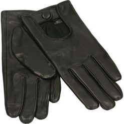 Rękawiczki damskie. Czarne rękawiczki damskie Gino Rossi, na jesień, ze skóry. Za 199,90 zł.