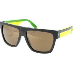 """Okulary przeciwsłoneczne damskie: Okulary przeciwsłoneczne """"0005/S 0IE/VP"""" w kolorze zielono-żółto-czarnym"""