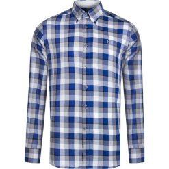 Koszule męskie na spinki: Koszula CONTE OF FLORENCE ENODOC MIDDLE Print|Szary|Granatowy