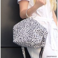 Torebki i plecaki damskie: Skórzana torebka na kółkach