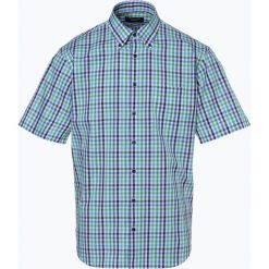 Koszule męskie na spinki: Andrew James - Koszula męska łatwa w prasowaniu, zielony