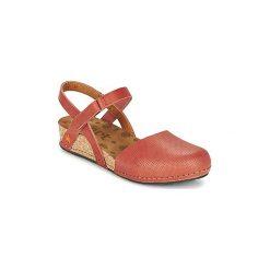 Sandały Art  POMPEI. Czerwone sandały trekkingowe damskie Art, z kauczuku. Za 335,20 zł.