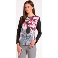 Bluzki asymetryczne: Bluzka w jesiennych barwach