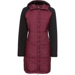 Płaszcz pikowany bonprix bordowo-czarny. Czerwone płaszcze damskie bonprix. Za 189,99 zł.