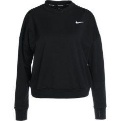 Topy sportowe damskie: Nike Performance THERMA SPHERE CREW Koszulka sportowa black/reflective silver