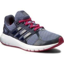 Buty adidas - Duramo 8 W BB4674  Suppur/Midgr. Czarne buty do biegania damskie marki Adidas, z kauczuku. W wyprzedaży za 199,00 zł.