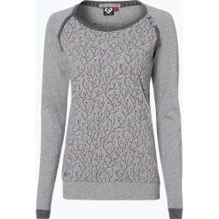 Odzież damska: Ragwear – Damska koszulka z długim rękawem – Delicious, szary