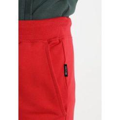 Spodnie męskie: Only & Sons ONSRFANA LOGO PANTS Spodnie treningowe pompeian red
