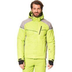Kurtka narciarska w kolorze jasnozielonym. Zielone kurtki męskie marki CMP, m. W wyprzedaży za 429,95 zł.
