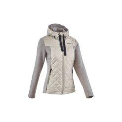 Swetry klasyczne damskie: Sweter turystyczny z kapturem damski Arpenaz 600 L