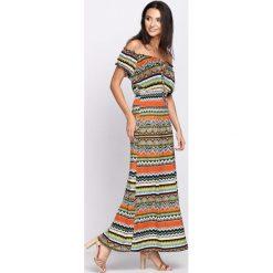 Sukienki hiszpanki: Zielona Sukienka Look Alive