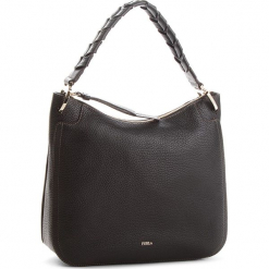 Torebka FURLA - Rialto 981785 B BNZ6 VHC Onyx. Czarne torebki klasyczne damskie Furla, ze skóry. Za 1179,00 zł.