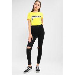 Cheap Monday HIGH SPRAY CUT  Jeans Skinny Fit black. Niebieskie jeansy damskie bootcut marki bonprix. Za 209,00 zł.