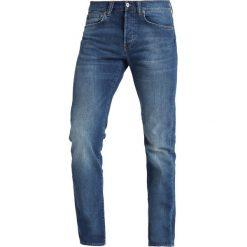 Edwin ED80 Jeansy Slim Fit birger wash/power blue denim. Niebieskie rurki męskie Edwin, z bawełny. Za 419,00 zł.
