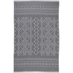 Chusta hammam w kolorze antracytowym - 200 x 140 cm. Czarne chusty damskie marki Hamamtowels, z bawełny. W wyprzedaży za 87,95 zł.