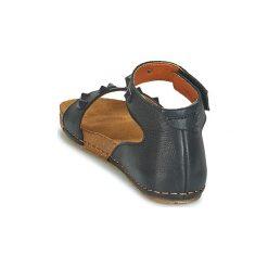 Sandały Art  CRETA 1251A. Czarne sandały damskie Art, z kauczuku. Za 367,20 zł.