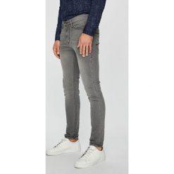 Mustang - Jeansy Frisco. Szare jeansy męskie slim Mustang, z bawełny. Za 269,90 zł.