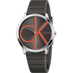 ZEGAREK CALVIN KLEIN MINIMAL K3M211T3. Brązowe zegarki męskie Calvin Klein, szklane. Za 769,00 zł.
