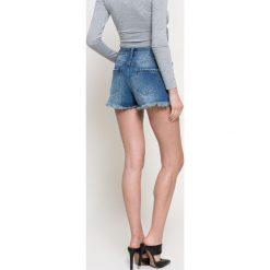 Missguided - Szorty. Szare szorty jeansowe damskie marki Missguided, casualowe. W wyprzedaży za 59,90 zł.