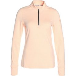 Reebok ZIP Koszulka sportowa beige. Szare topy sportowe damskie marki Reebok, xs, z elastanu. W wyprzedaży za 215,20 zł.