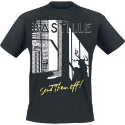 Bastille Send Them Off T-Shirt czarny. Czarne t-shirty męskie z nadrukiem Bastille, xxl, z okrągłym kołnierzem. Za 74,90 zł.
