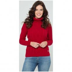 Sir Raymond Tailor Sweter Damski L Czerwony. Czerwone swetry klasyczne damskie Sir Raymond Tailor, l, z wełny. Za 199,00 zł.