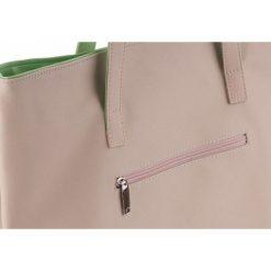 Shopper bag damskie: TORBA SHOPPER VERONA BEŻOWA LYLA
