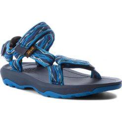 Sandały TEVA - Hurricane Xlt 2 1019390C  Delmar Blue. Niebieskie sandały chłopięce Teva, z materiału. W wyprzedaży za 139,00 zł.