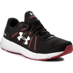Buty sportowe męskie: Buty UNDER ARMOUR – Ua Dash Rn 2 1285671-003 Blk/Red/Wht
