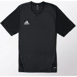 Koszulki do piłki nożnej męskie: Adidas Koszulka piłkarska męska Core Training Jersey czarna r. L (S22391)