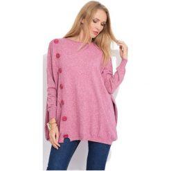 Fille Du Couturier Sweter Damski Bethanie 36 Różowy. Czerwone swetry klasyczne damskie Fille Du Couturier, z materiału. Za 269,00 zł.