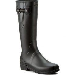 Kalosze VIKING - Elvida 1-36100-237 Black/Olive. Czarne buty zimowe damskie Viking, z gumy. W wyprzedaży za 259,00 zł.