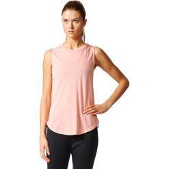 Bluzki sportowe damskie: Adidas Koszulka Sport ID Sleeveless Tee różowy r. XS (B45739)