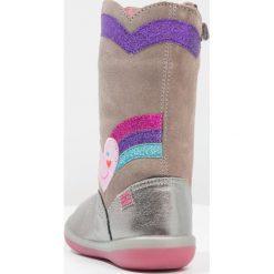 Agatha Ruiz de la Prada BUTTERFLY Kozaki silver. Szare buty zimowe damskie marki Agatha Ruiz de la Prada. W wyprzedaży za 263,20 zł.