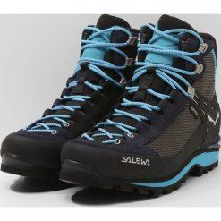 Salewa CROW GTX Obuwie górskie premium navy/ethernal blue. Niebieskie buty zimowe damskie marki Salewa. Za 969,00 zł.