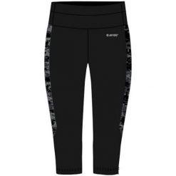 Hi-tec Spodnie damskie Lady Siba 3/4 Black/ Black Pattern r. XL. Czarne spodnie sportowe damskie marki Hi-tec, xl. Za 99,99 zł.
