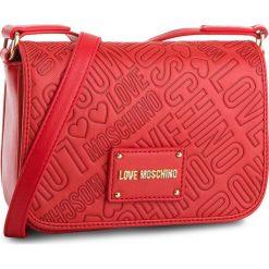 Listonoszki damskie: Torebka LOVE MOSCHINO - JC4028PP15LC0500  Rosso