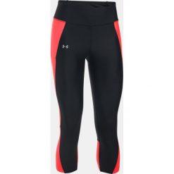 Under Armour Legginsy damskie Fl B Capri czarno-czerwone r. XS (1297933-006). Czarne legginsy sportowe damskie Under Armour, xs. Za 149,99 zł.