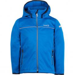 Kurtka softshellowa w kolorze niebieskim. Niebieskie kurtki chłopięce Kamik. W wyprzedaży za 127,95 zł.