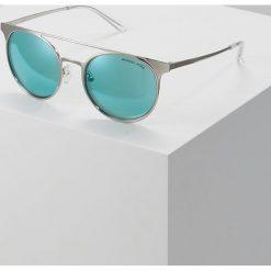 Michael Kors Okulary przeciwsłoneczne shiny silvercoloured. Szare okulary przeciwsłoneczne damskie lenonki marki Michael Kors. Za 569,00 zł.
